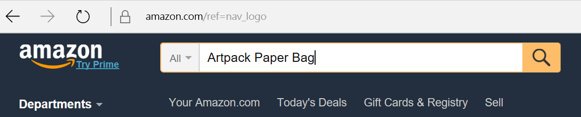 search-artpack-in-amazon