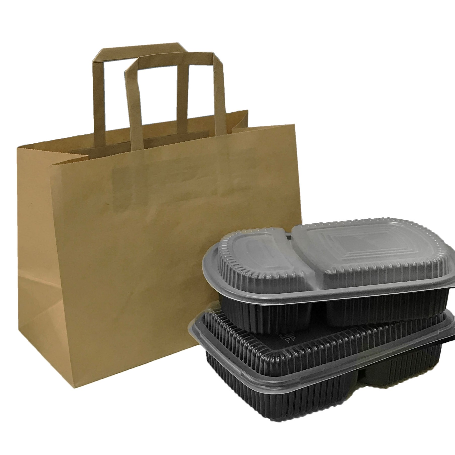 SALE: FLAT HANDLE PAPER BAGS