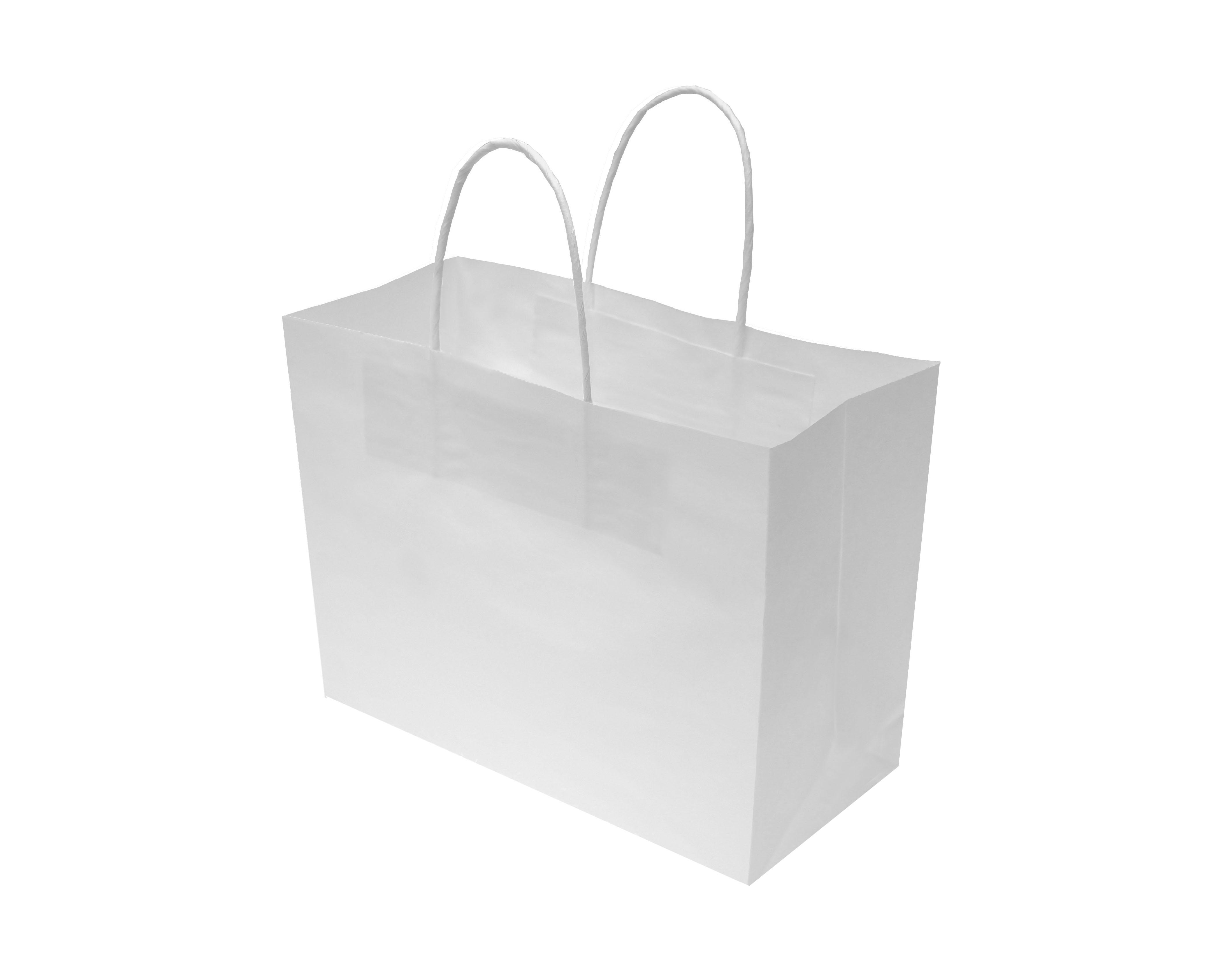 120G Thick White Kraft Bag