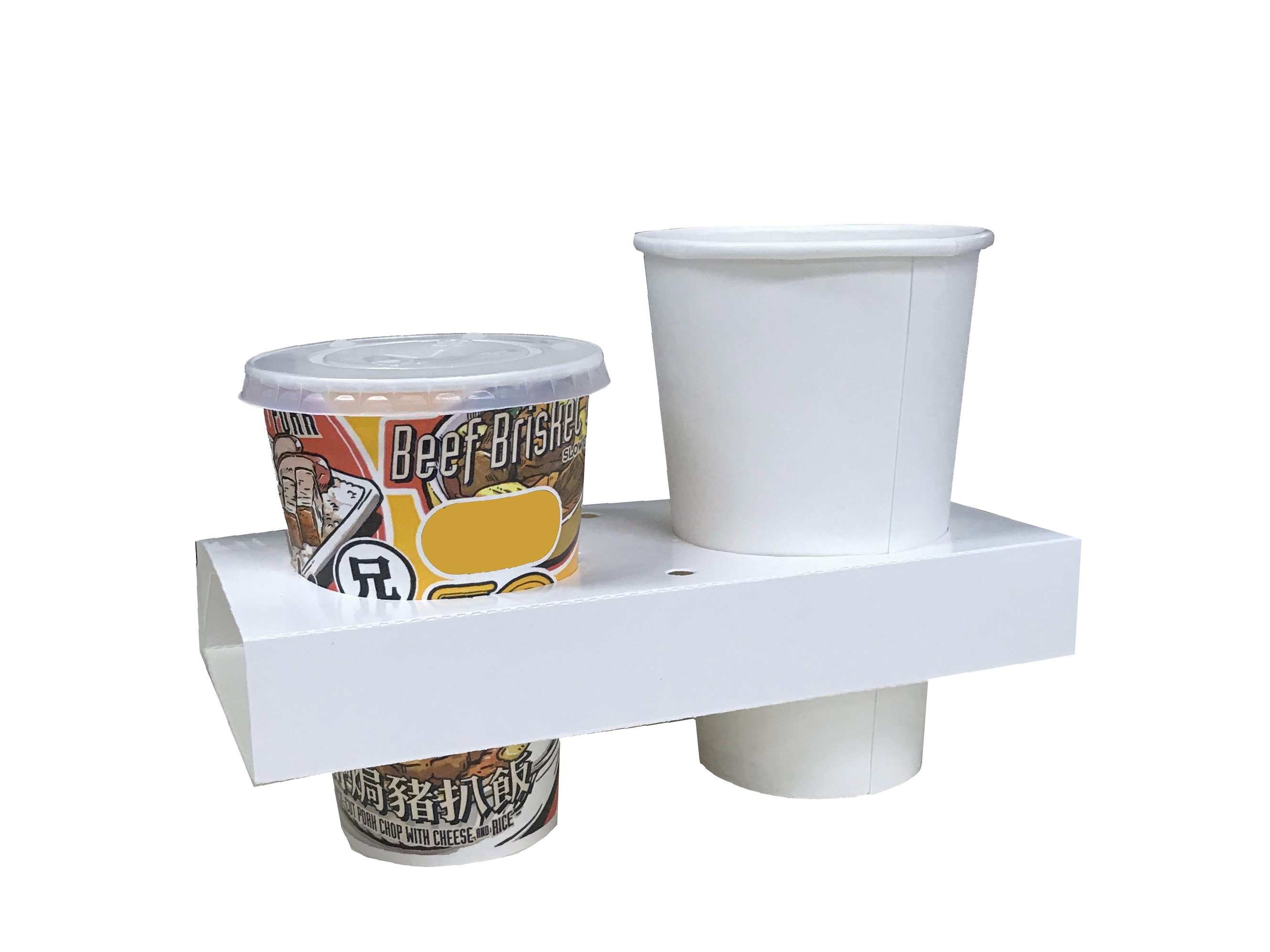 Paper Cup Holder (One Cold One Hot)