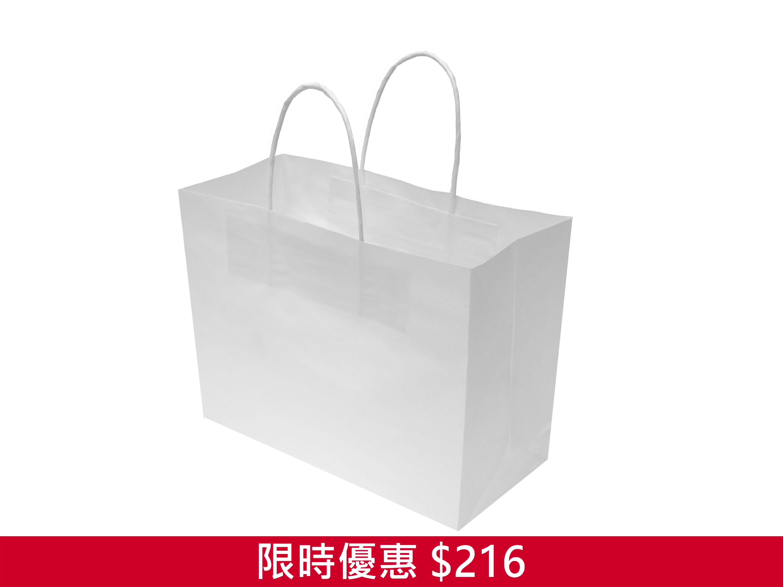 120G 加厚白牛外賣袋